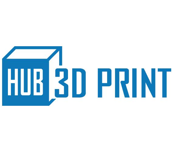 logo 3dprint hub