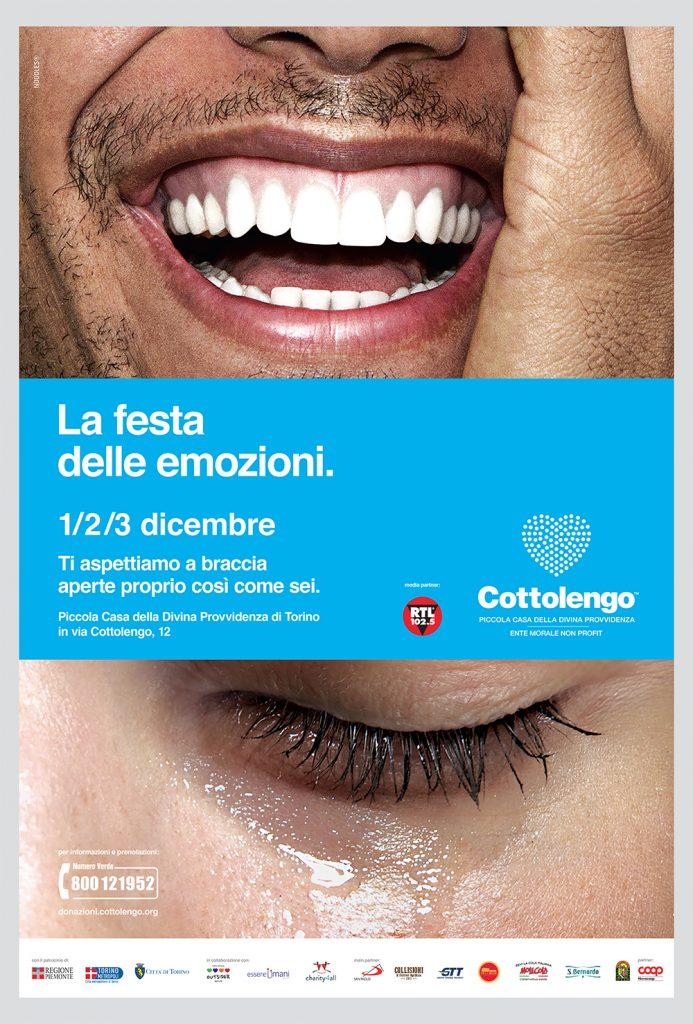 festa emozioni Cottolengo Torino
