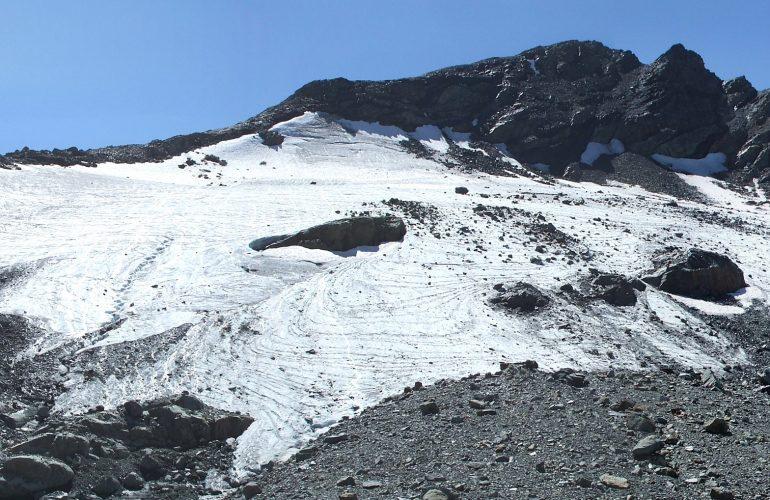 Ghiacciaio dell'Arguerey settentrionale (la Thuile, Aosta).