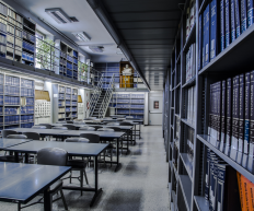 """La biblioteca Centrale """"G. Marconi"""" del CNR."""