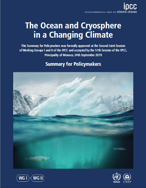 Special Report on the Ocean and Cryosphere in a Changing Climate