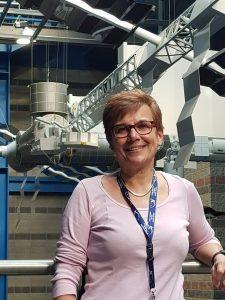 La Dottoressa Liliana Ravagnolo, trainer di astronauti esperta