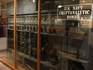 """World War II Cryptanalytical Bombe"" by Fleeting Shadow is licensed under CC BY-NC 2.0"