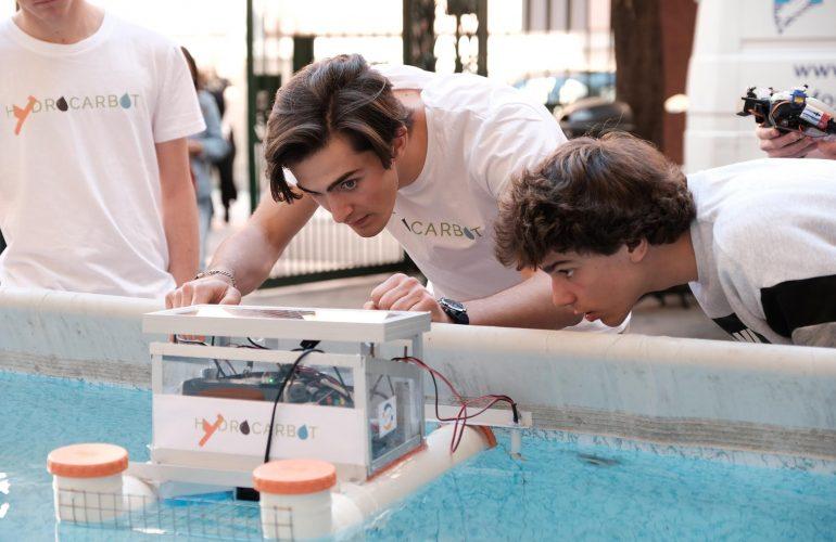 Fiorella Operto olimpiadi della robotica